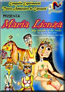 MARÍA LIONZA, en tiempo de títeres