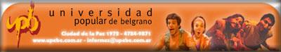 Felicitaciones de la Universidad Popular de Belgrano a TEATRÍN VIAJERO