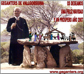 Felicitaciones de GEGANTERS de Vallgorguina a TEATRÍN VIAJERO