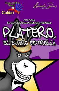 PLATERO, el burro estrella