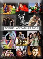 <strong>SOBRE LAS TABLAS 2003 - Anuario teatral venezolano</strong>