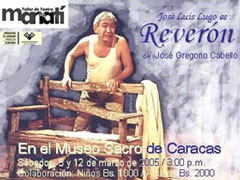 <strong>Reverón jugará con los niños en el Museo Sacro de Caracas</strong>