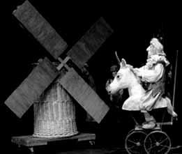 """<strong>""""EL QUIJOTE"""" centrará un concurso de teatro de títeres del Ayuntamiento de Segovia</strong>"""